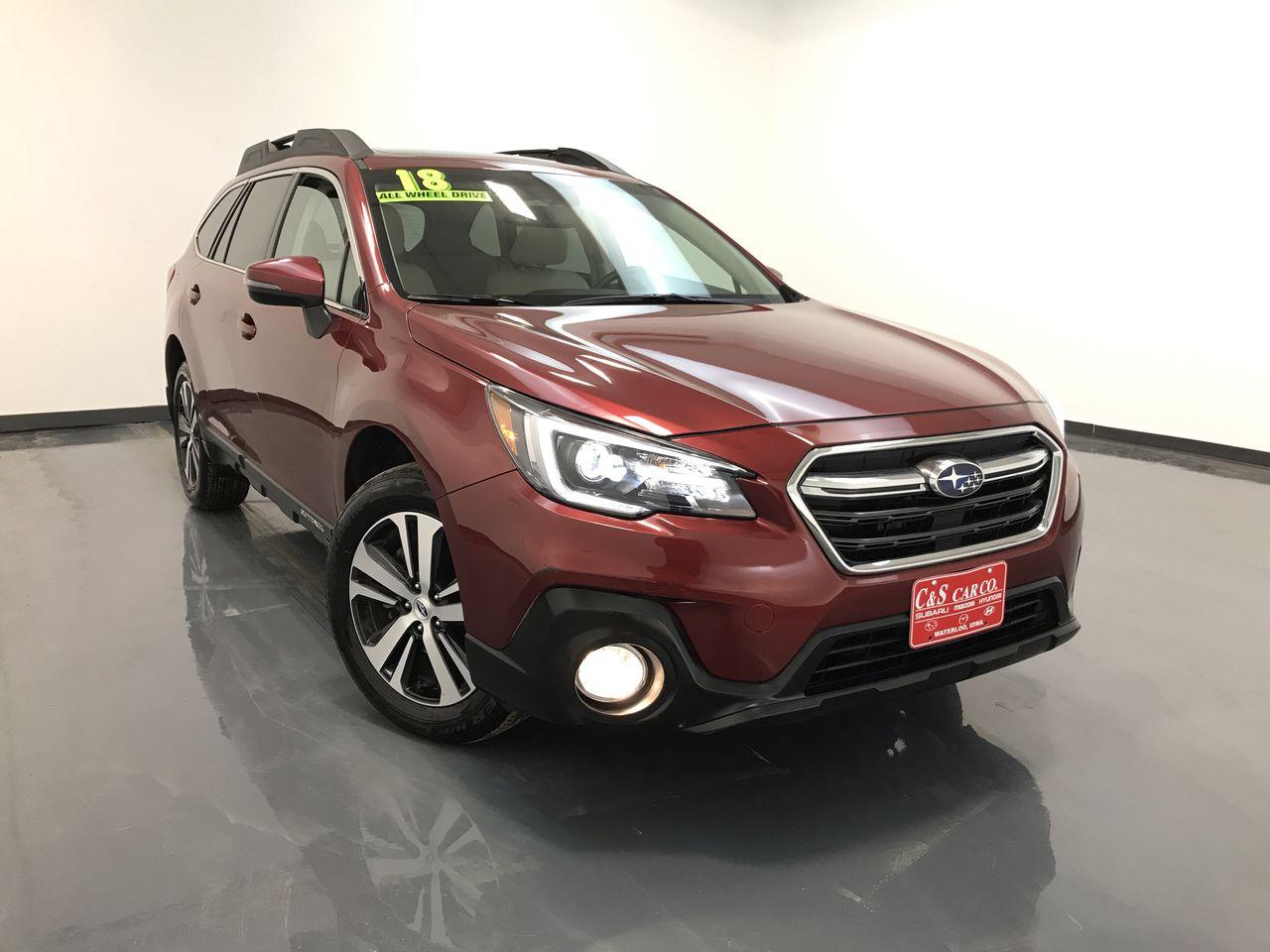 2018 Subaru Outback 2.5i Limited w/ Eyesight  - SB8403A  - C & S Car Company