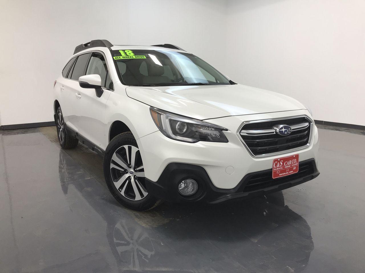 2018 Subaru Outback Limited 2.5i w/ Eyesight  - SB8542A  - C & S Car Company