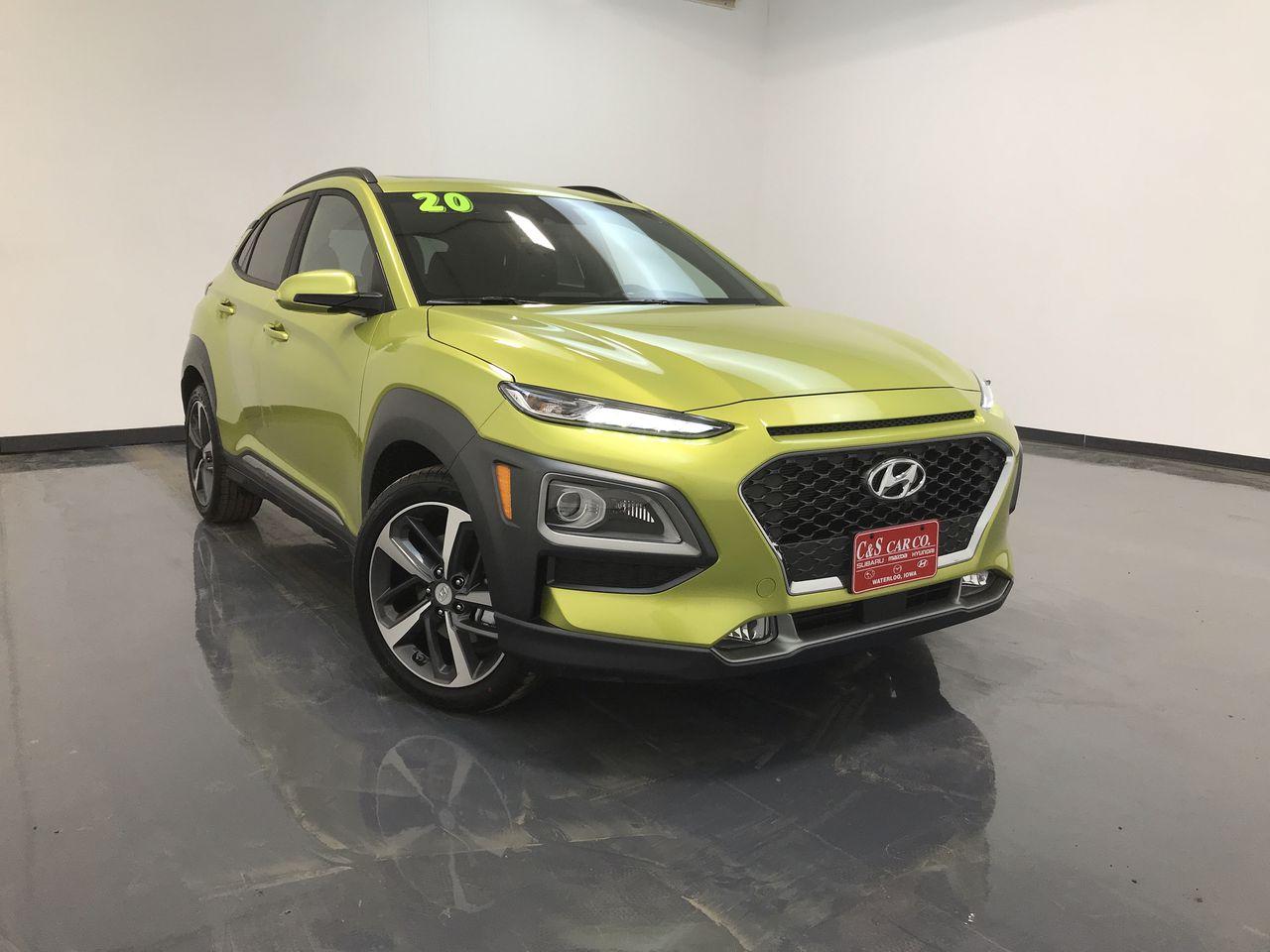 2020 Hyundai kona Ultimate AWD  - HY8383  - C & S Car Company