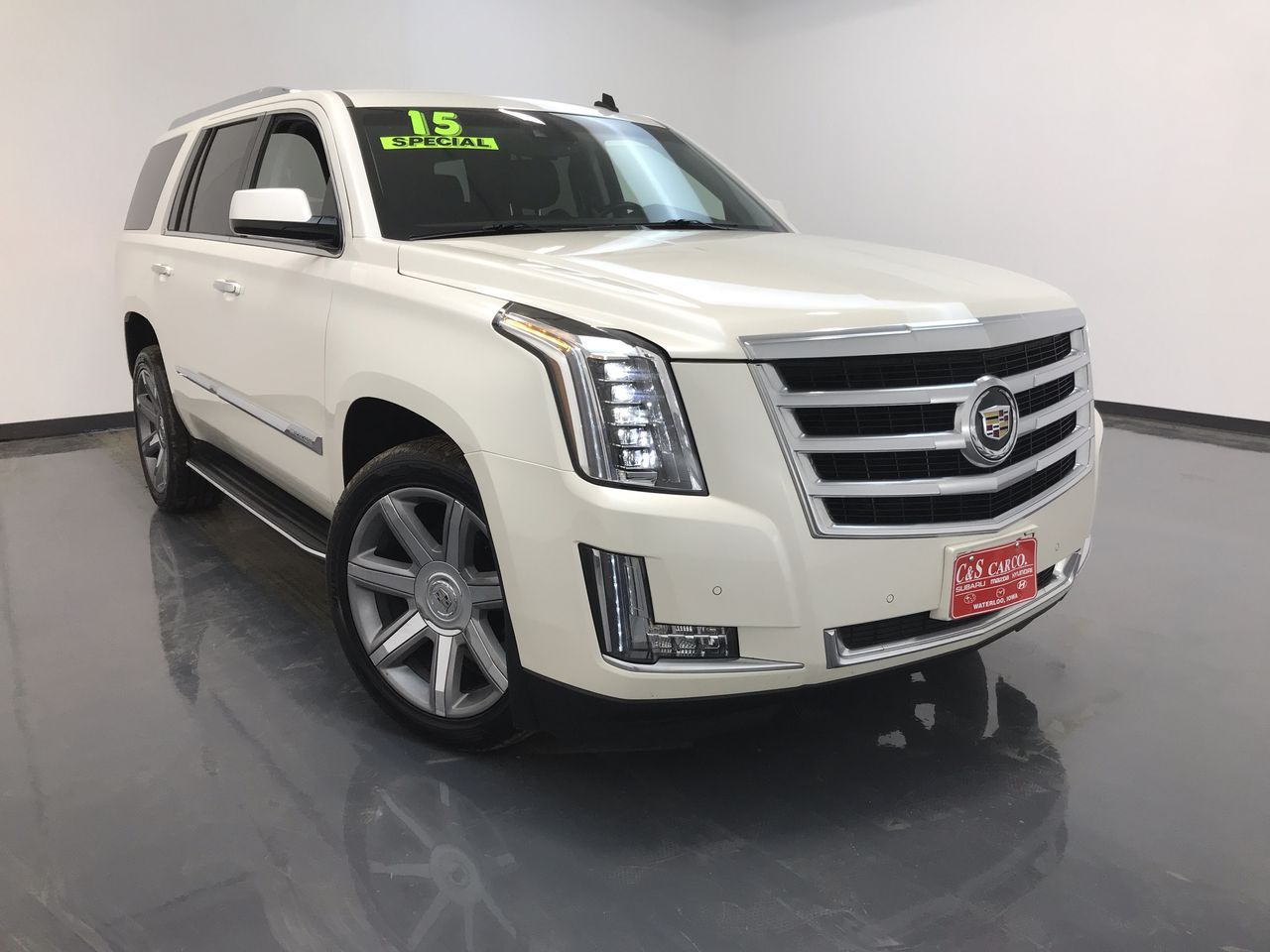 2015 Cadillac Escalade Luxury 4WD  - 16157  - C & S Car Company