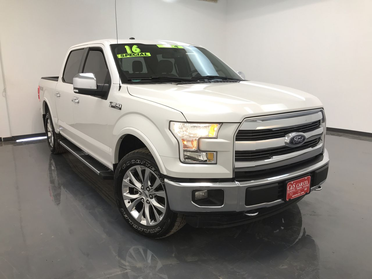 2016 Ford F-150 Lariat 4WD  - 16008A  - C & S Car Company