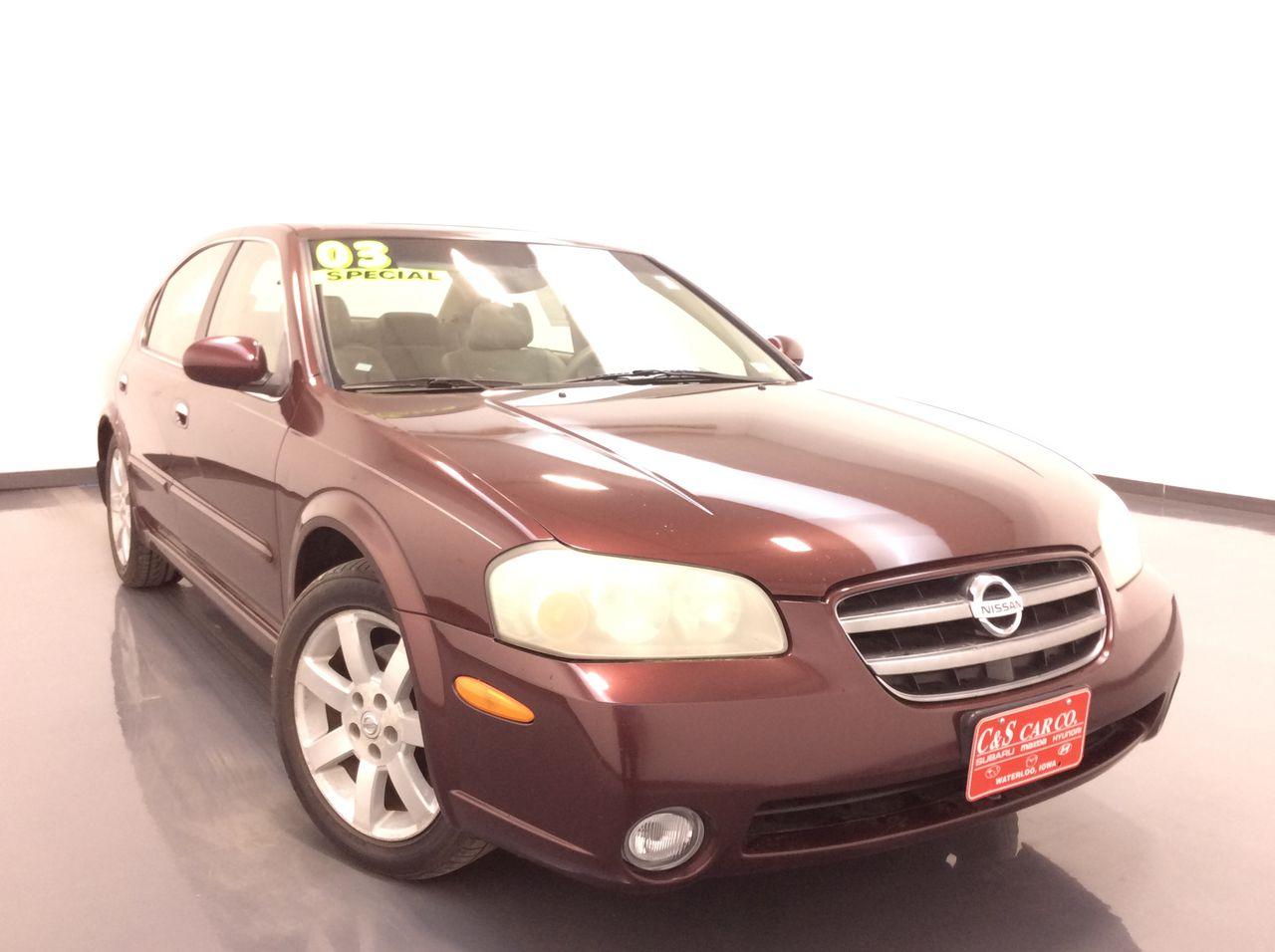 2003 Nissan Maxima GLE  - HY8359B  - C & S Car Company