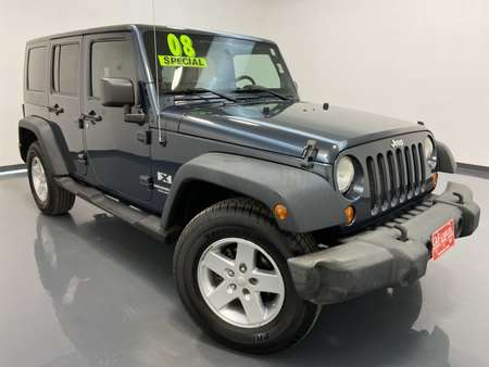 2008 Jeep Wrangler Unlimited 4WD for Sale  - MA3211C  - C & S Car Company