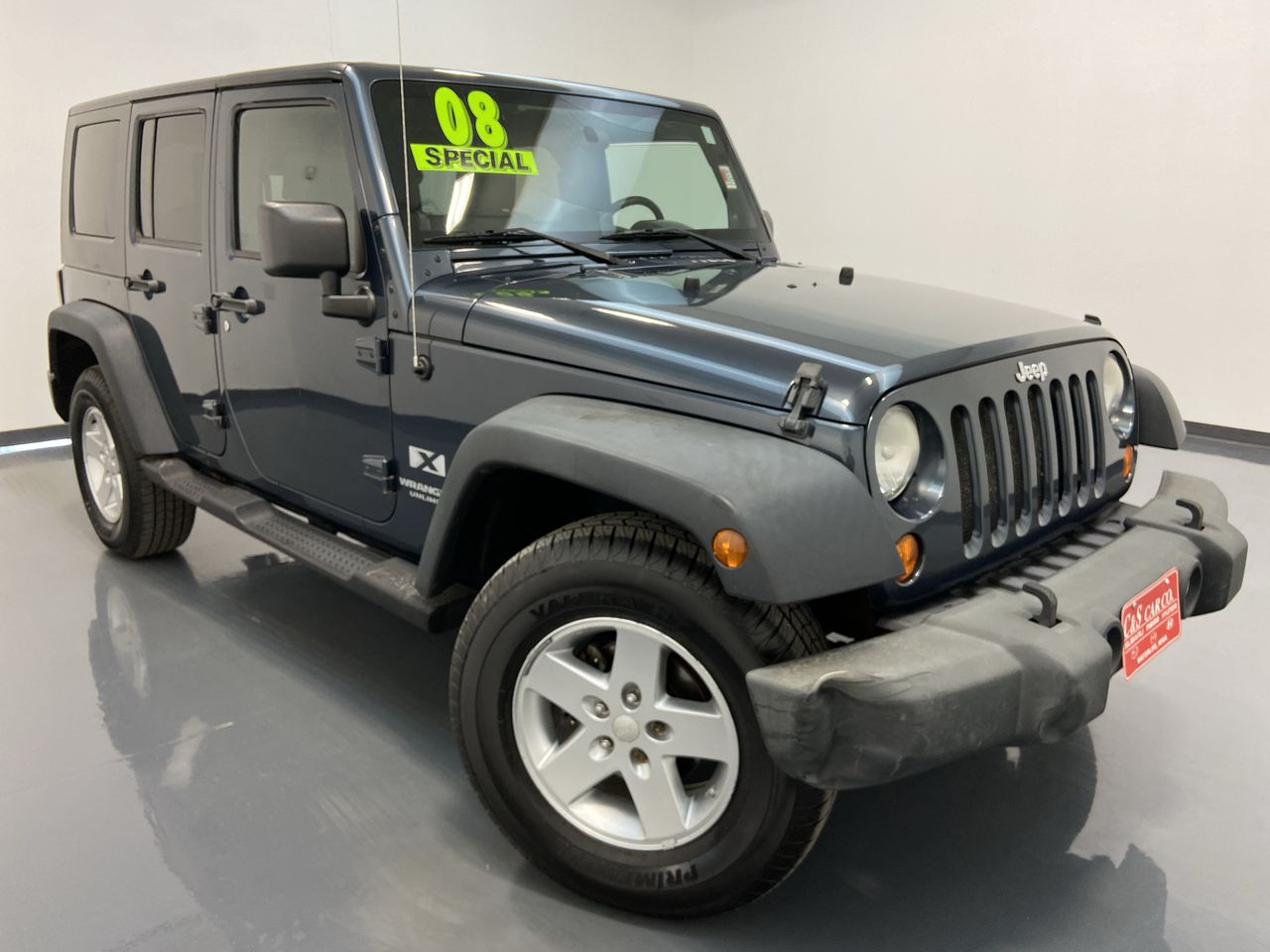 2008 Jeep Wrangler Unlimited 4WD  - MA3211C  - C & S Car Company