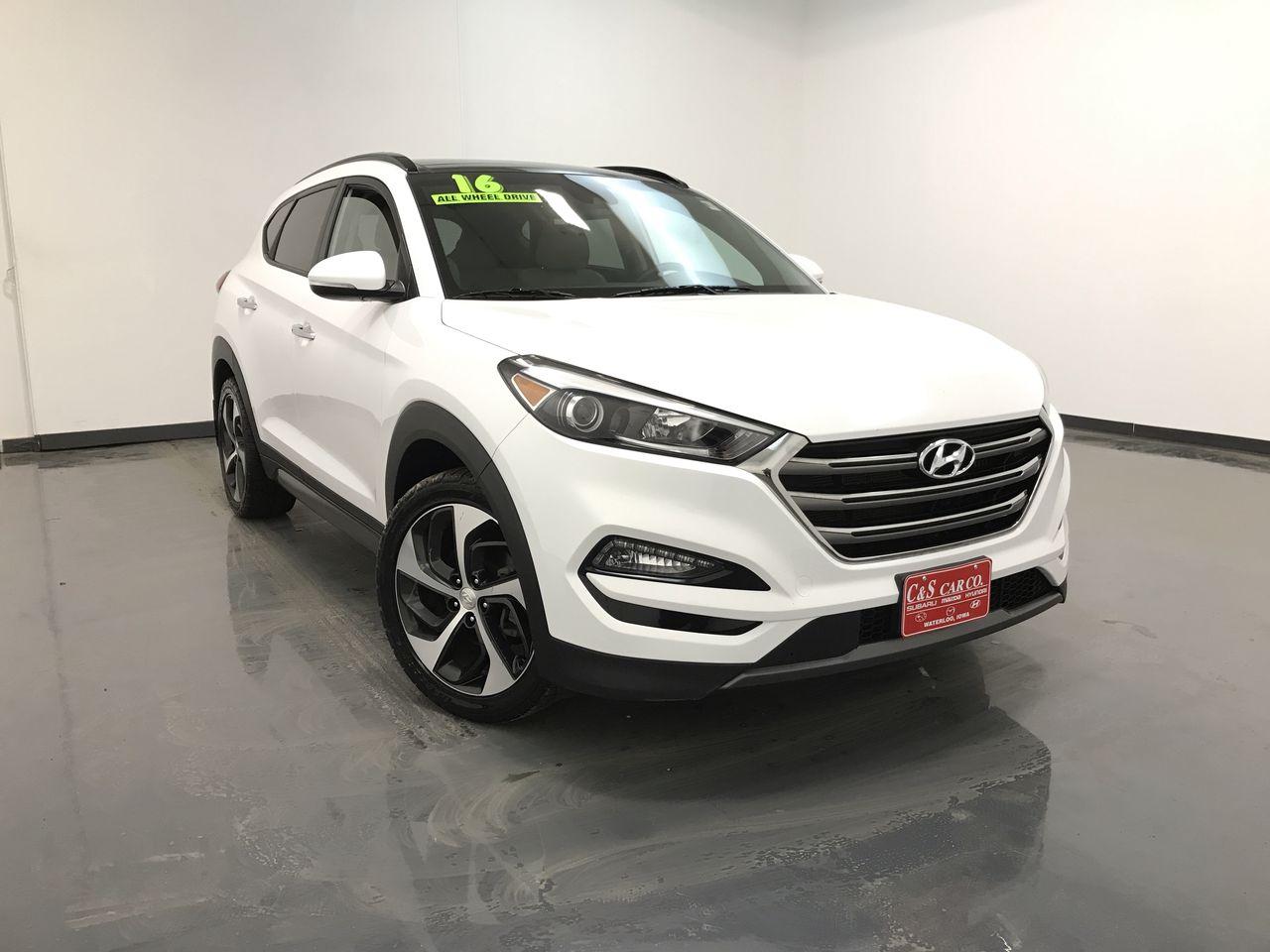 2016 Hyundai Tucson Limited AWD  - MA3358A  - C & S Car Company