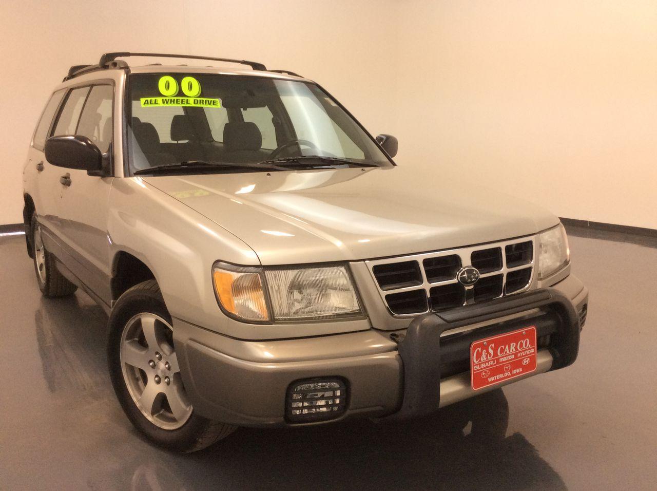 2000 Subaru Forester 4D Utility  - SB7964C  - C & S Car Company