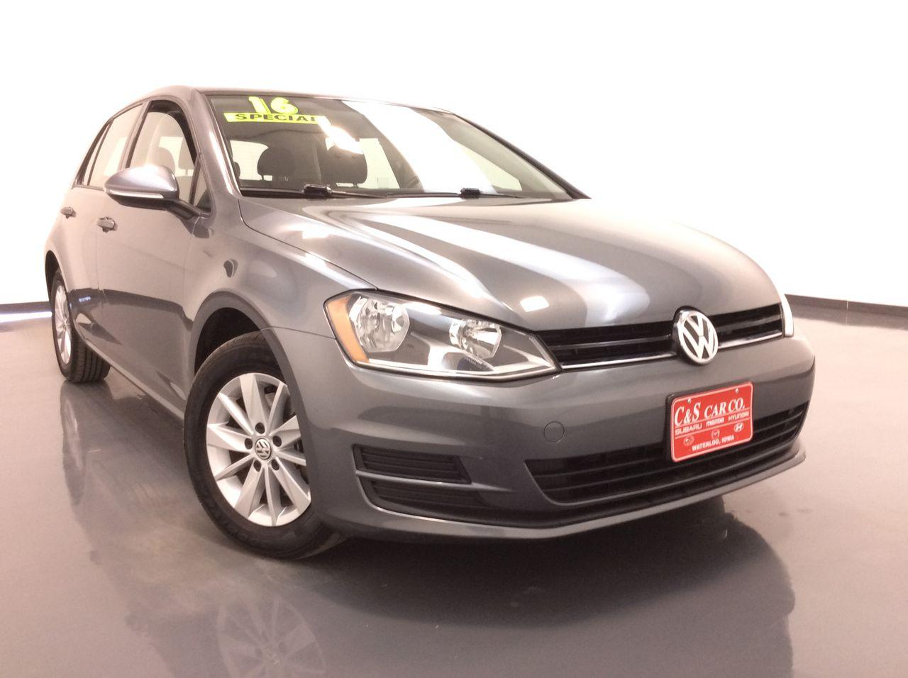 2016 Volkswagen Golf 4D Hatchback  - SB8701A  - C & S Car Company