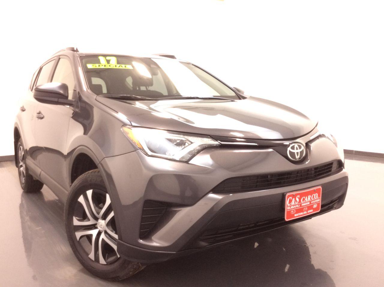 2017 Toyota Rav4 4D SUV AWD  - HY8408A  - C & S Car Company