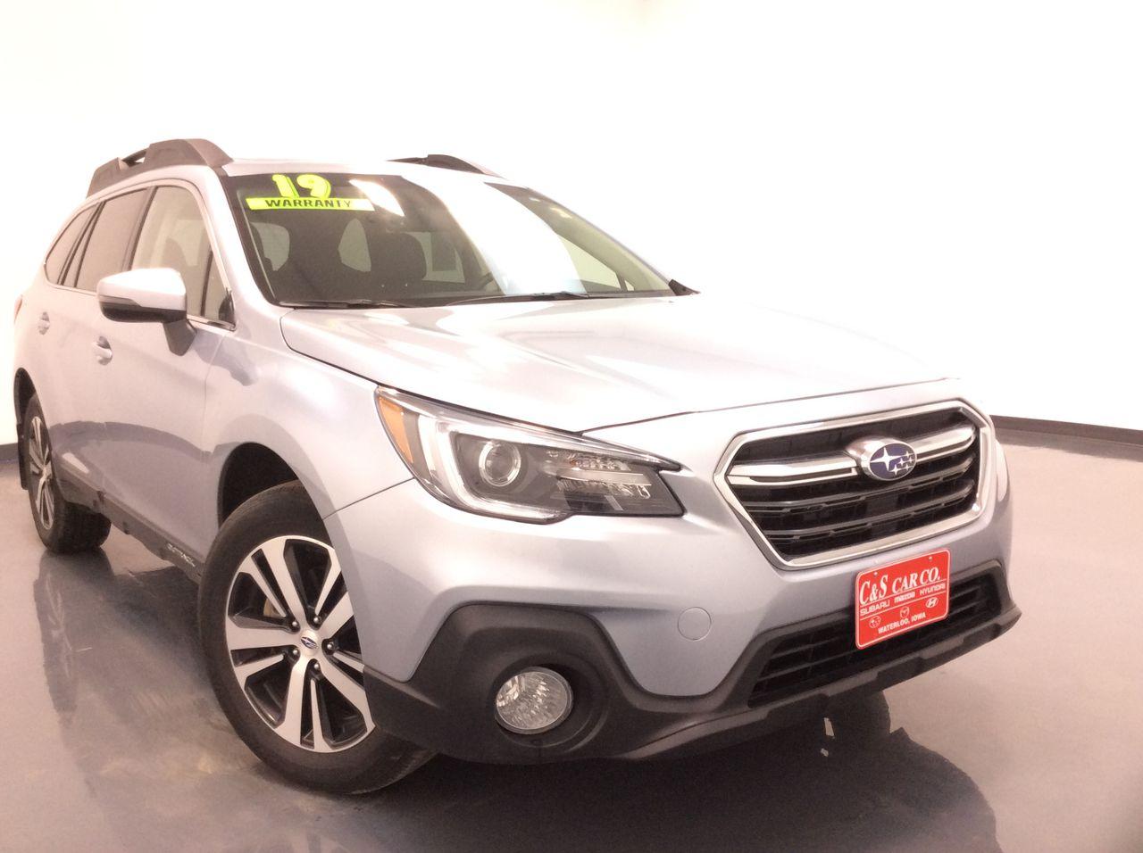 2019 Subaru Outback 4D SUV  - SB8663A  - C & S Car Company