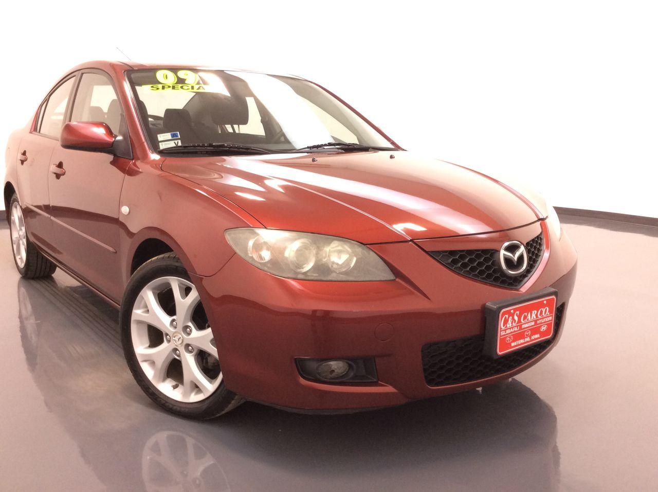 2009 Mazda Mazda3 4D Sedan  - SB8705A  - C & S Car Company