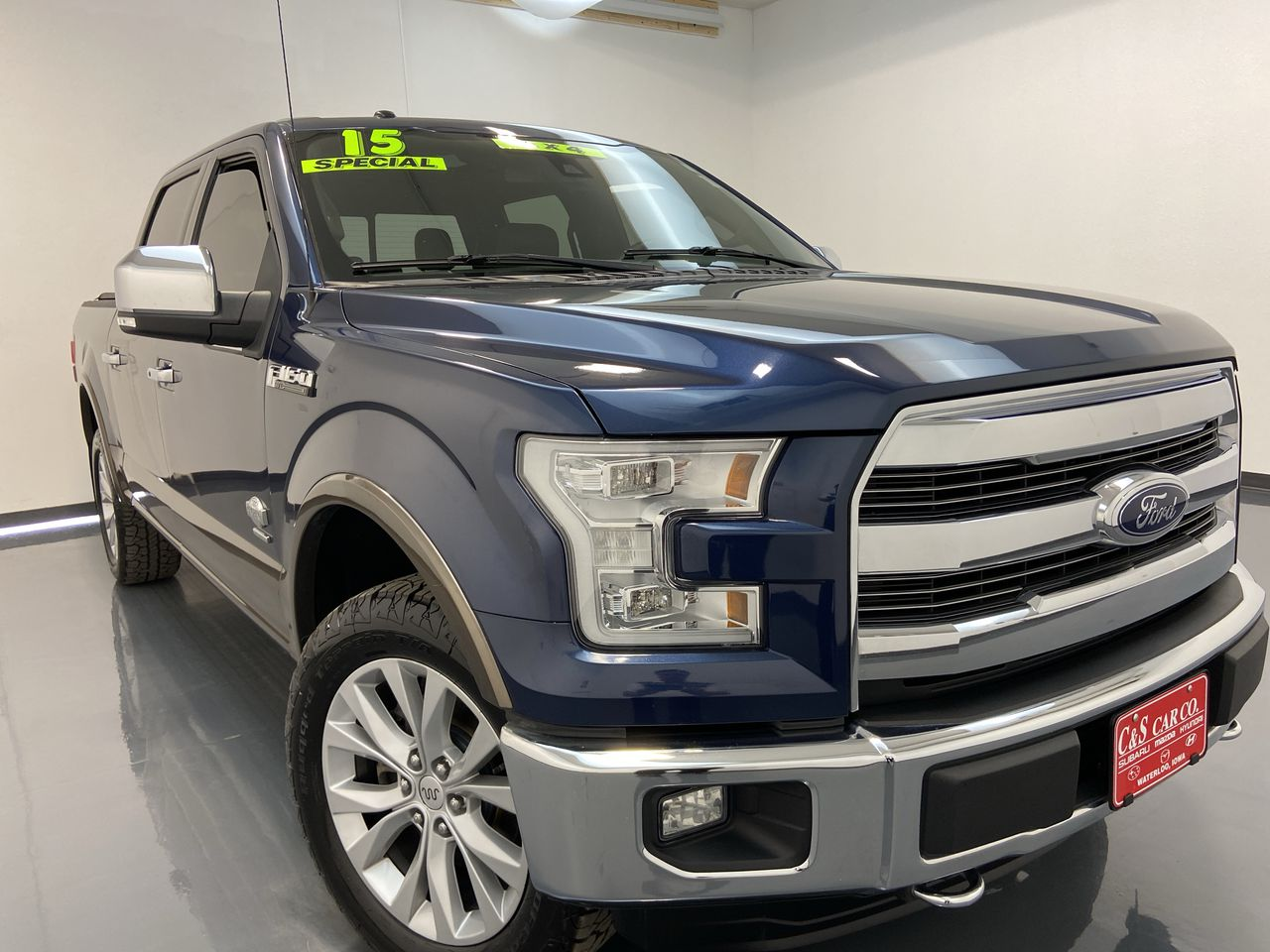 2015 Ford F-150 Supercrew 4WD  - SB8553A1  - C & S Car Company