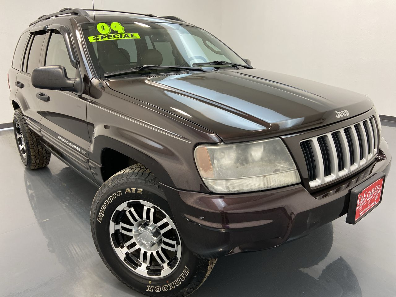 2004 Jeep Grand Cherokee 4D SUV 4WD  - HY8228C  - C & S Car Company