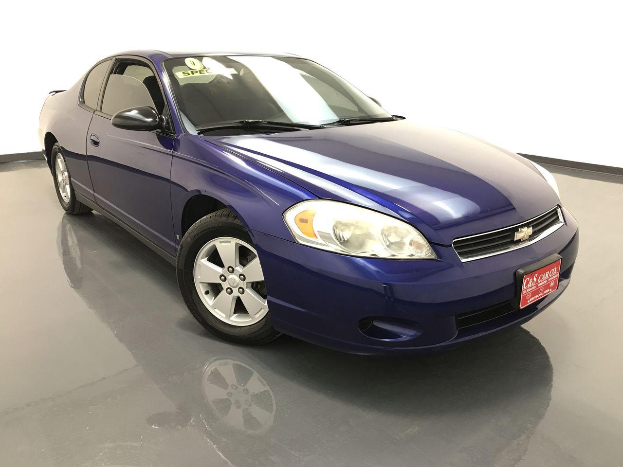 2006 Chevrolet Monte Carlo 2D Coupe  - R16252  - C & S Car Company
