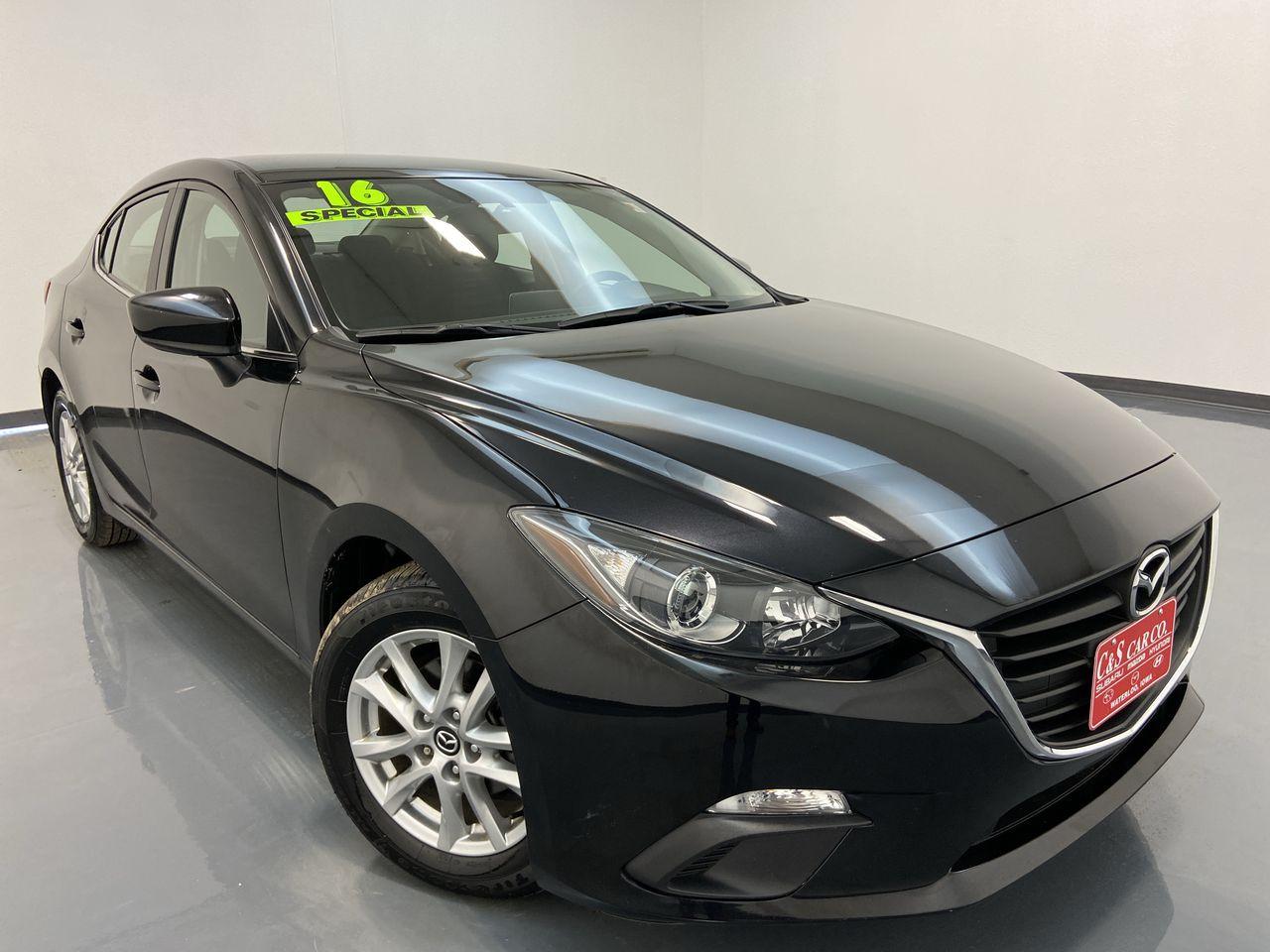 2016 Mazda Mazda3 4D Sedan  - MA3302B  - C & S Car Company