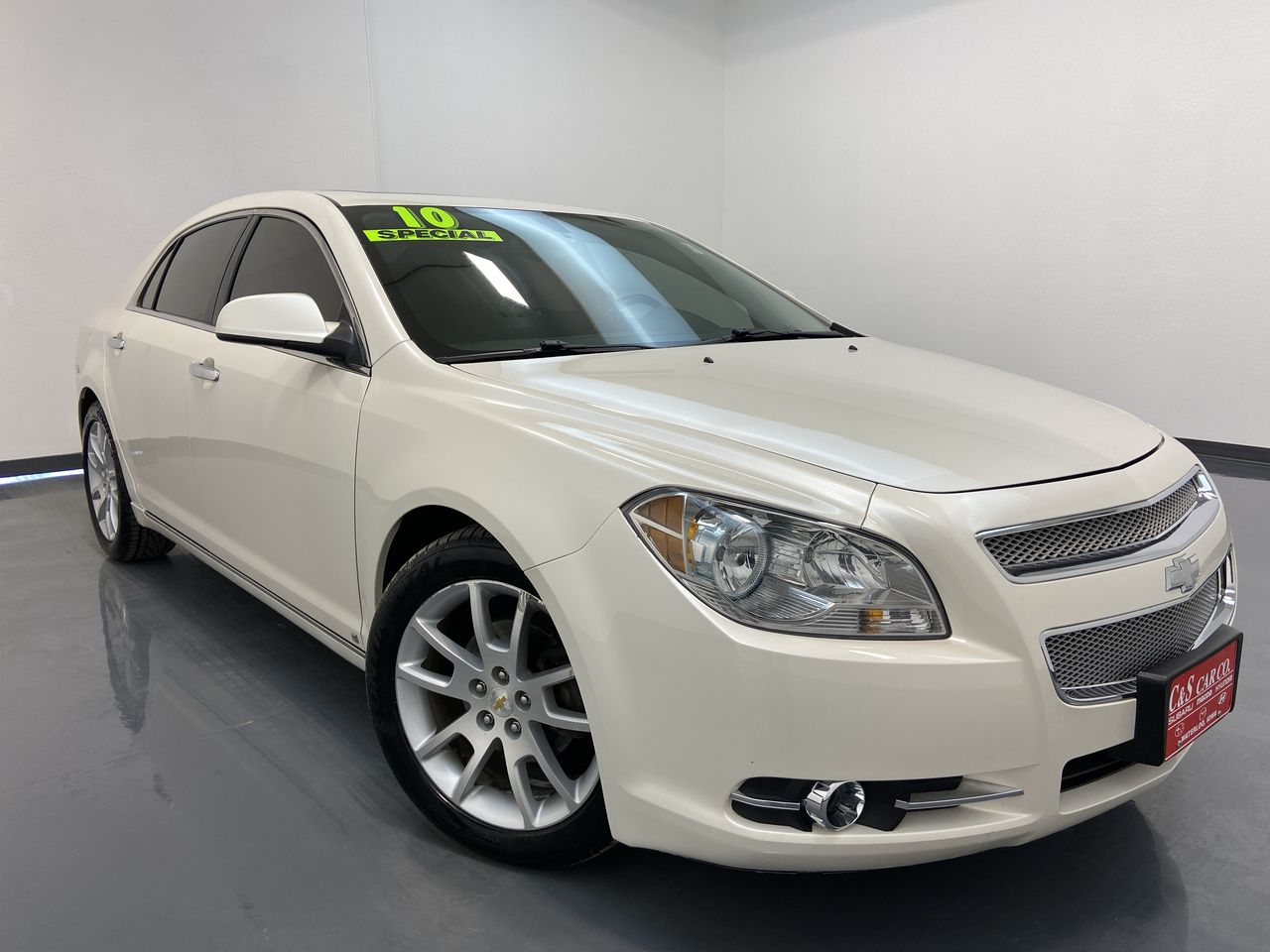2010 Chevrolet Malibu 4D Sedan  - SB8413C  - C & S Car Company
