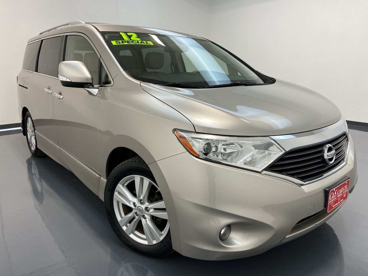 2012 Nissan Quest 4D Wagon  - 16004B  - C & S Car Company