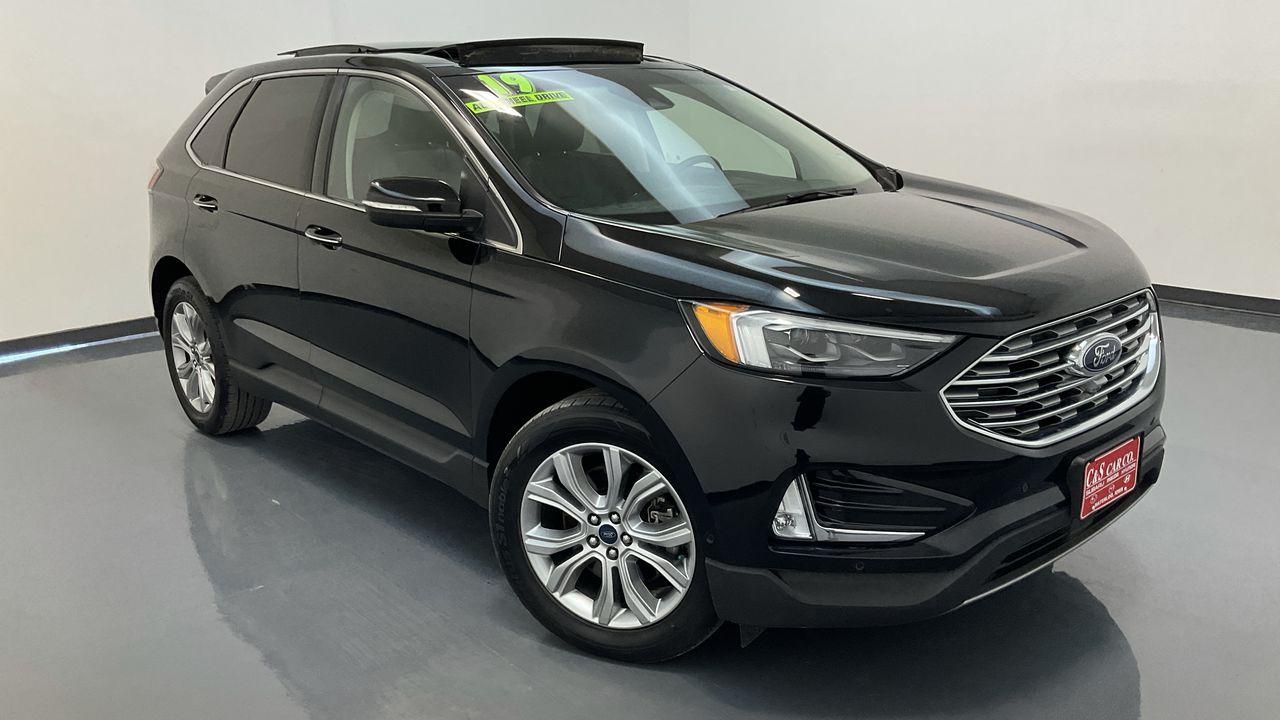 2019 Ford Edge 4D SUV AWD  - 16828A  - C & S Car Company