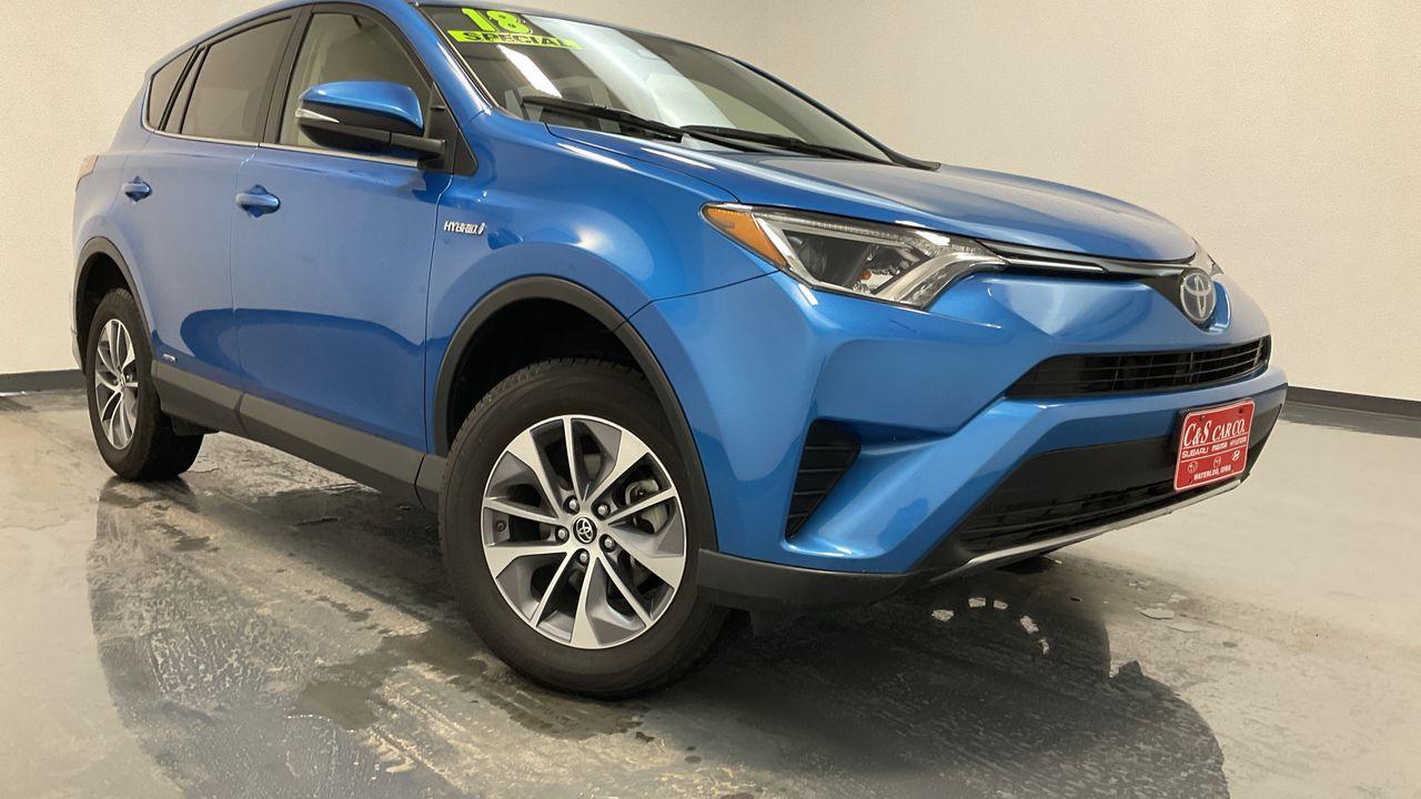 2018 Toyota RAV-4 4D SUV AWD  - 16422  - C & S Car Company