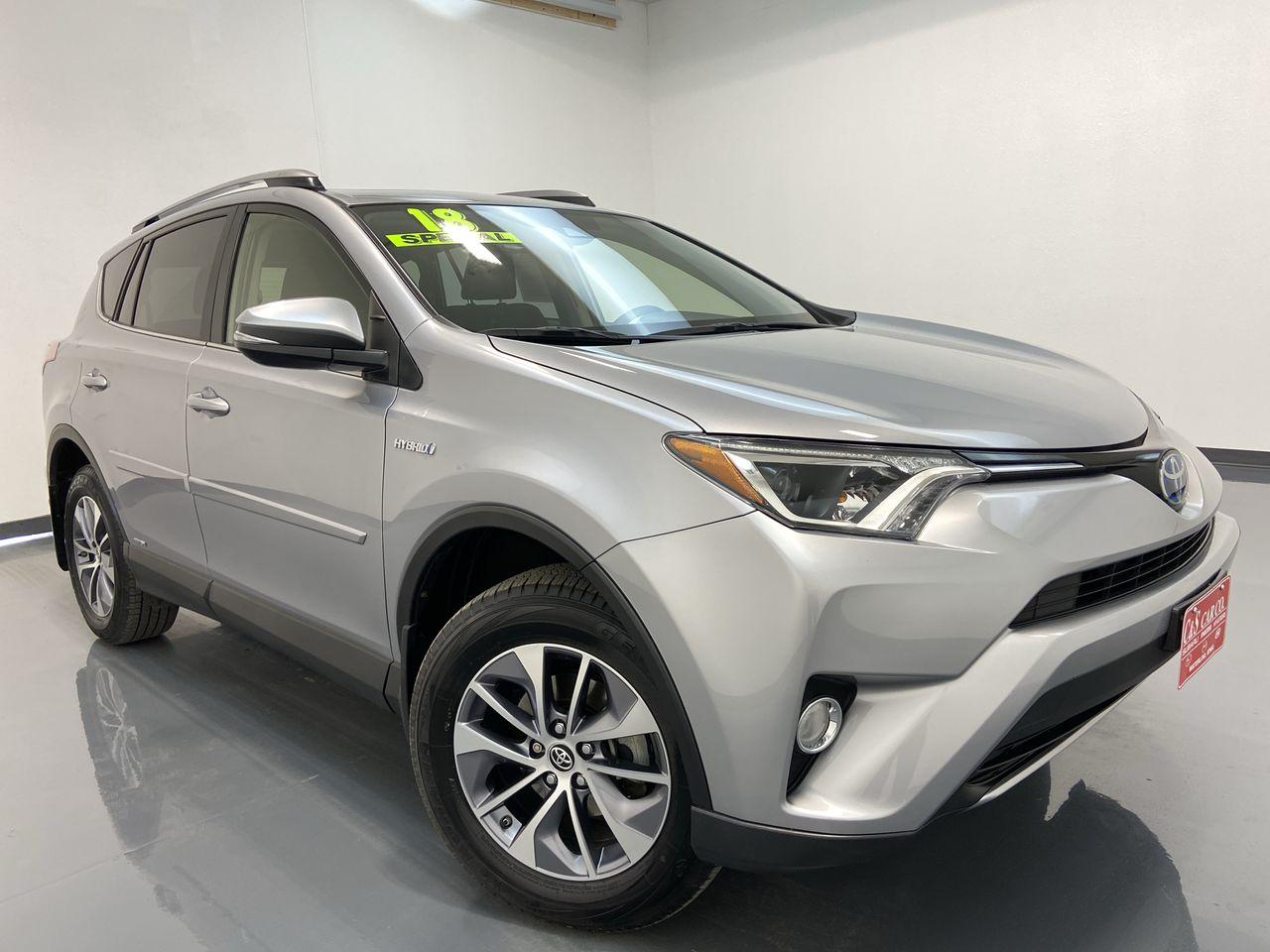 2018 Toyota RAV-4 4D SUV AWD  - 16421  - C & S Car Company