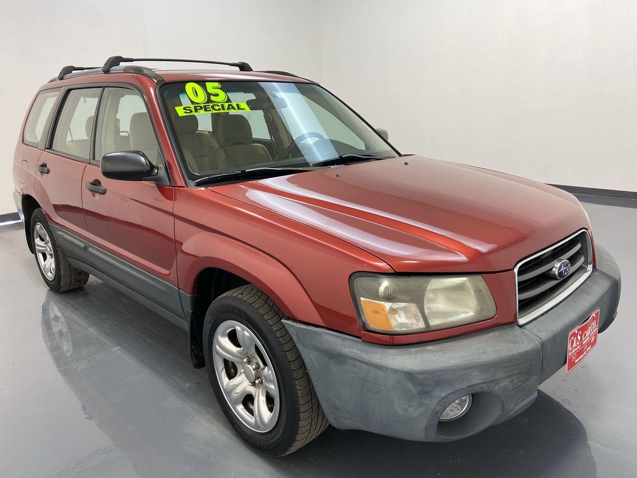 2005 Subaru Forester (Natl)  - SB8814B  - C & S Car Company