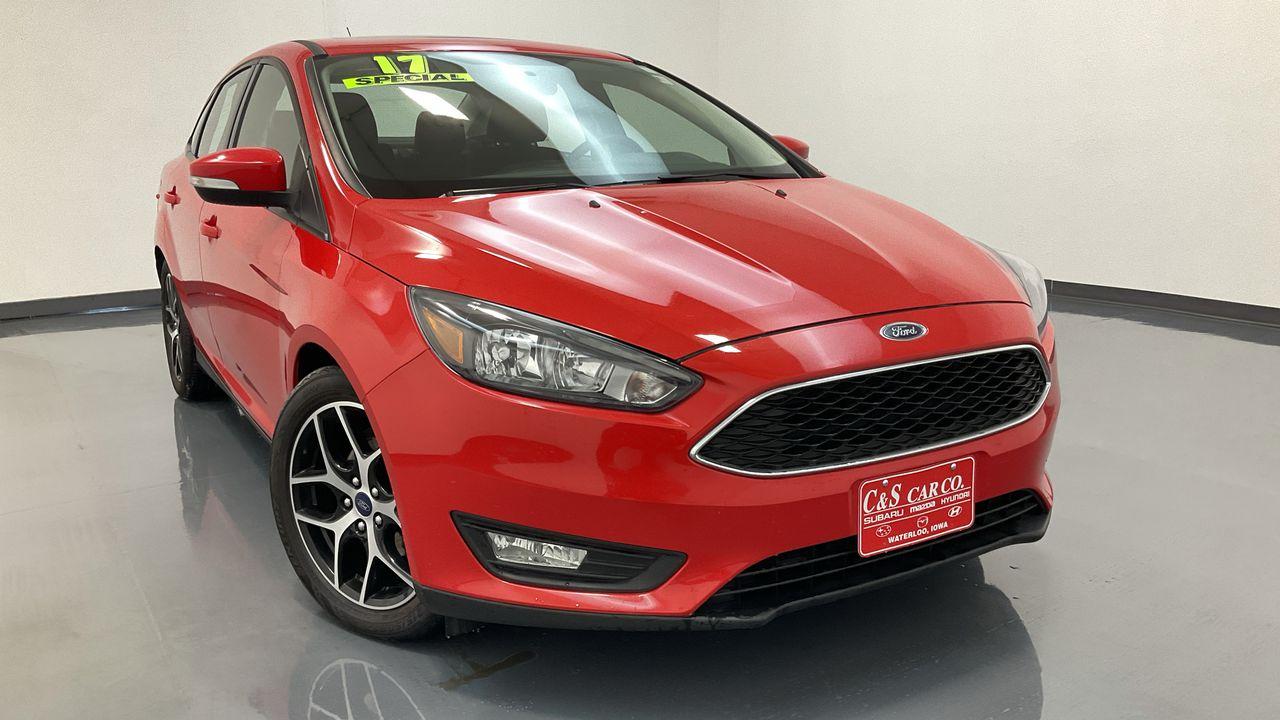 2017 Ford Focus 4D Sedan  - HY8494A  - C & S Car Company