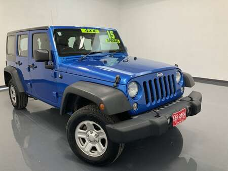 2015 Jeep Wrangler 4D SUV 4WD for Sale  - HY8513A  - C & S Car Company