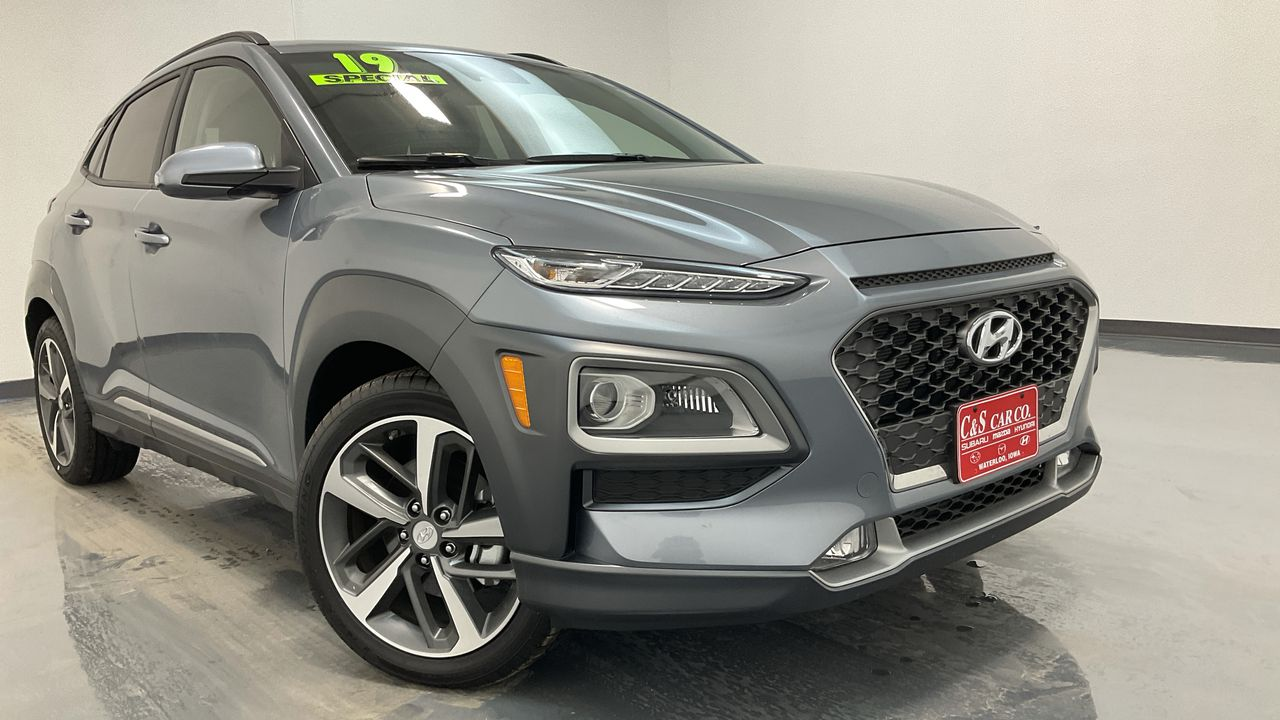 2019 Hyundai kona 4D SUV FWD 1.6T  - 16498  - C & S Car Company