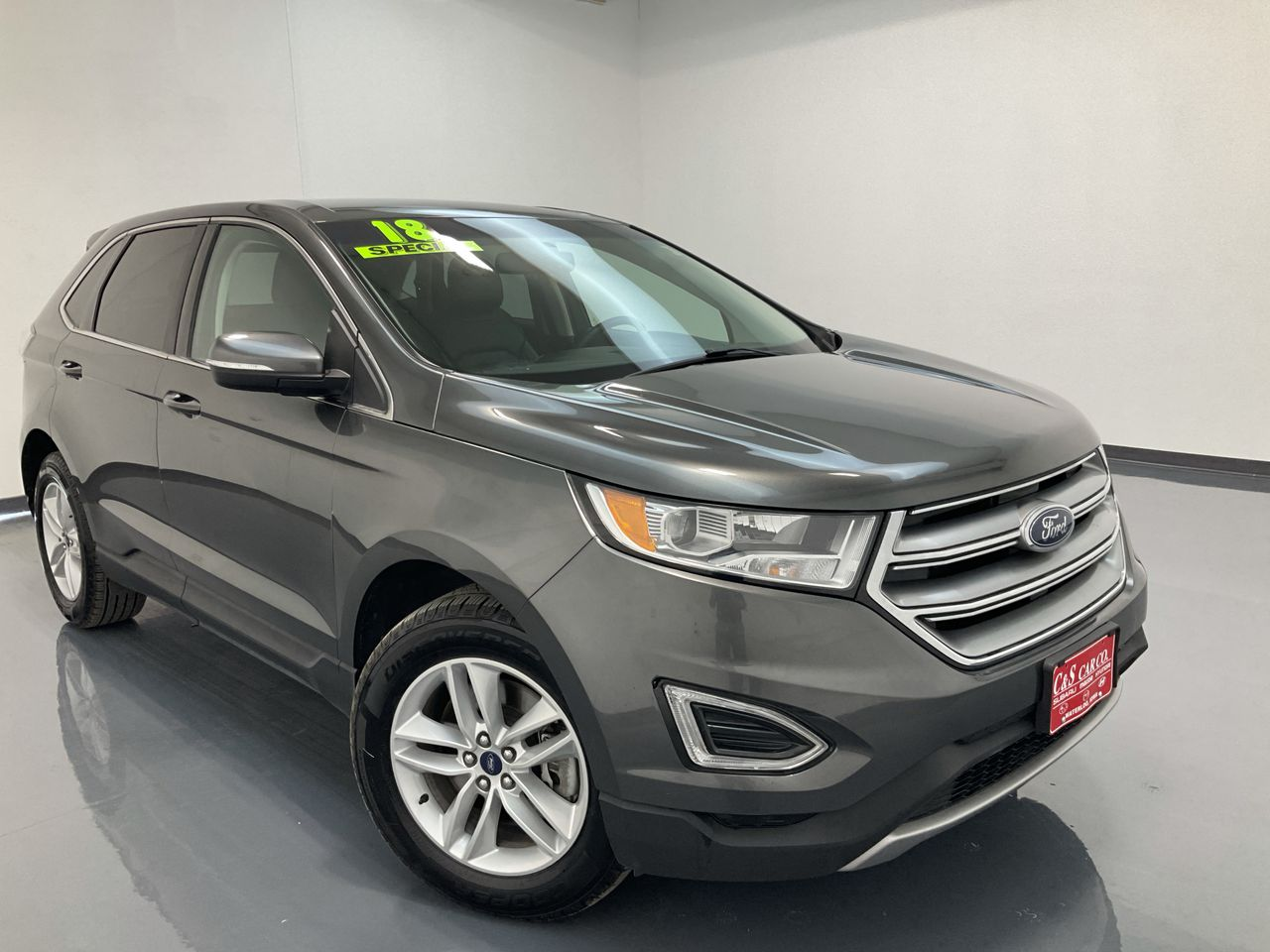 2018 Ford Edge 4D SUV AWD  - 16502  - C & S Car Company