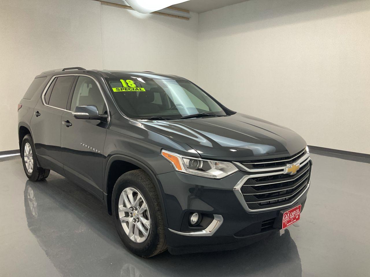2018 Chevrolet Traverse 4D SUV AWD  - HY8594A  - C & S Car Company