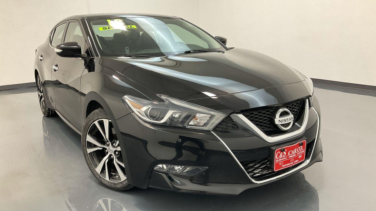 2018 Nissan Maxima 4D Sedan  - 16522  - C & S Car Company