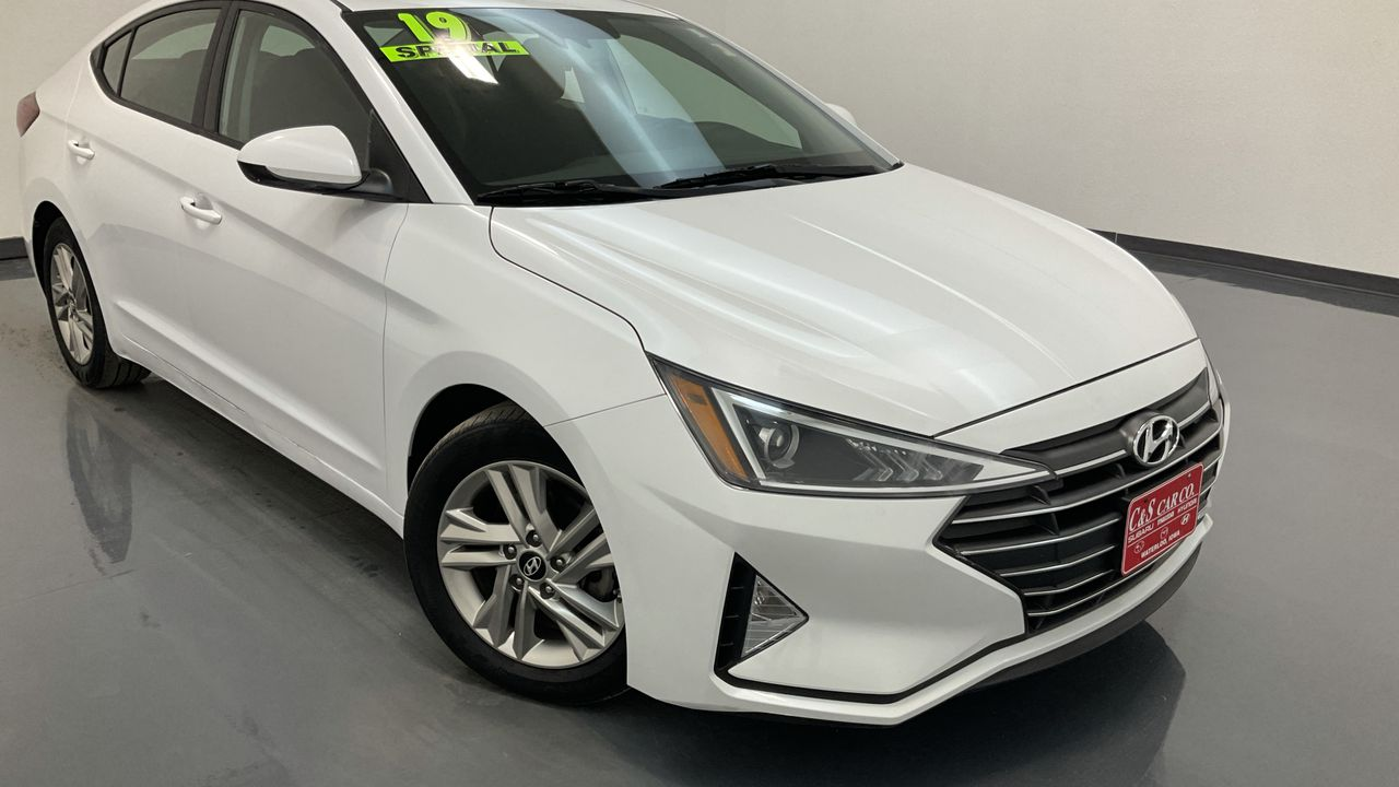 2019 Hyundai Elantra 4D Sedan at  - HY8350A  - C & S Car Company