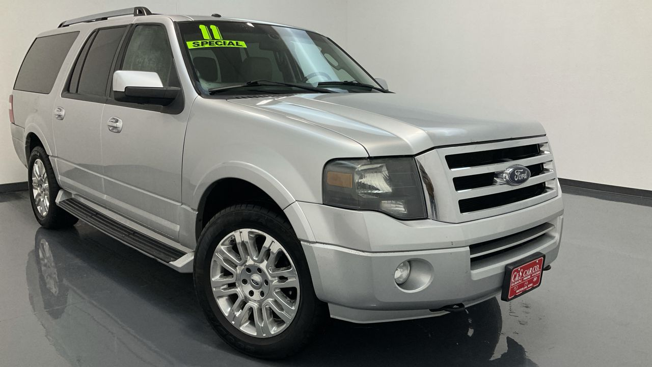 2011 Ford Expedition EL 4D SUV 4WD  - SC8629B1  - C & S Car Company