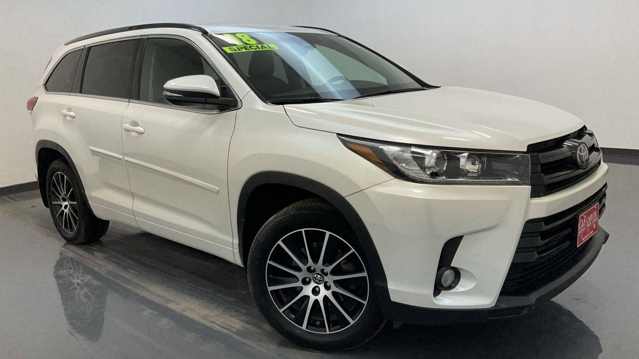 2018 Toyota Highlander 4D SUV AWD  - HY8580A  - C & S Car Company