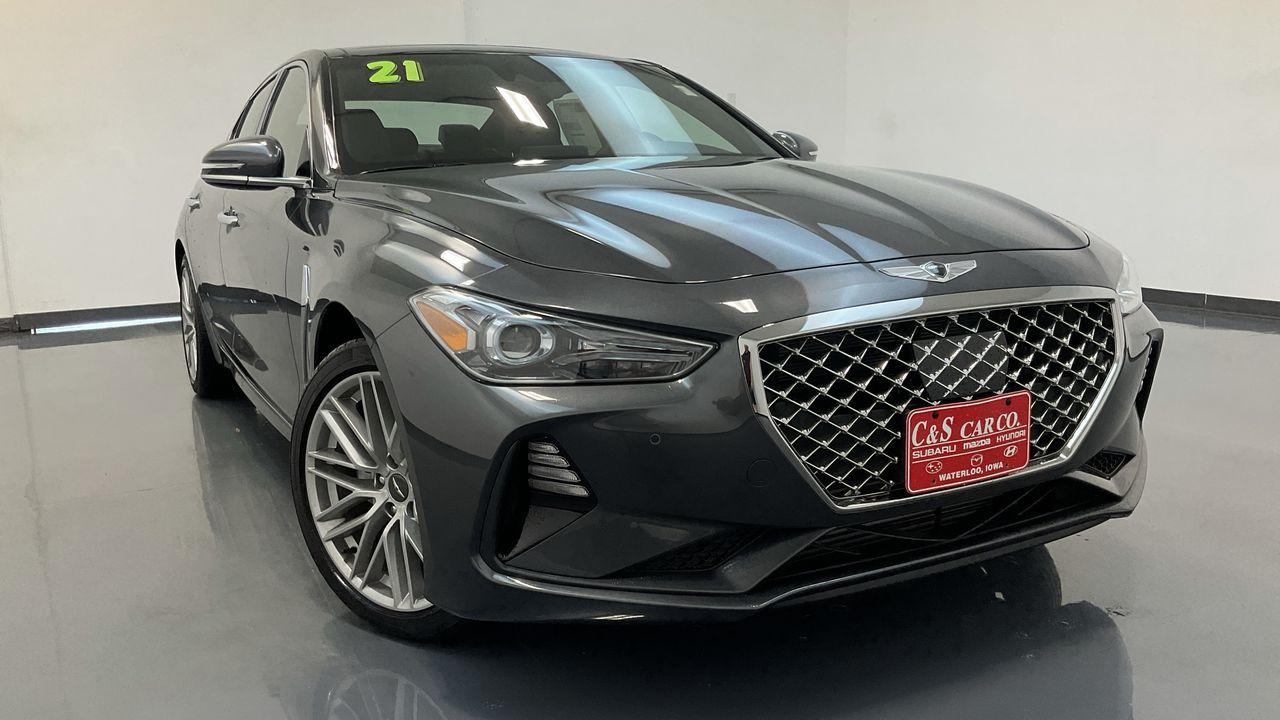 2021 Genesis G70 4D Sedan RWD at  - GS1037  - C & S Car Company