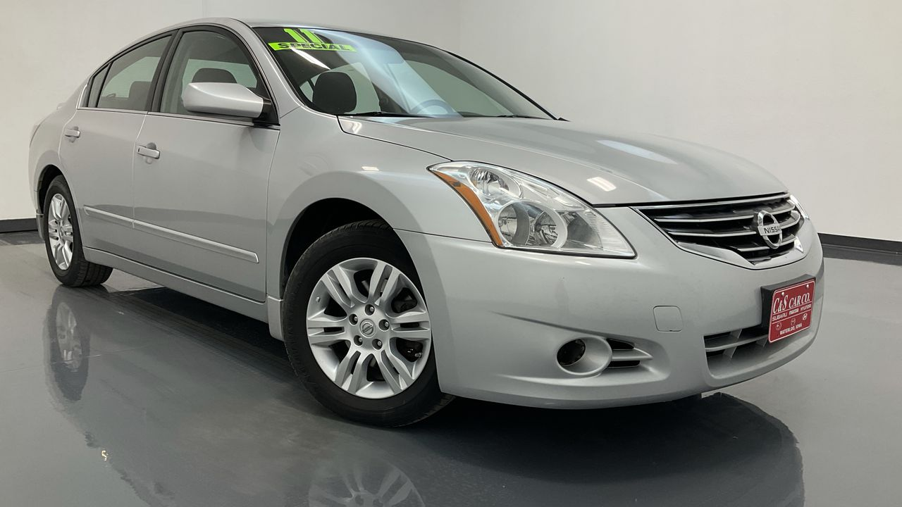 2011 Nissan Altima 4D Sedan  - MA3408A  - C & S Car Company