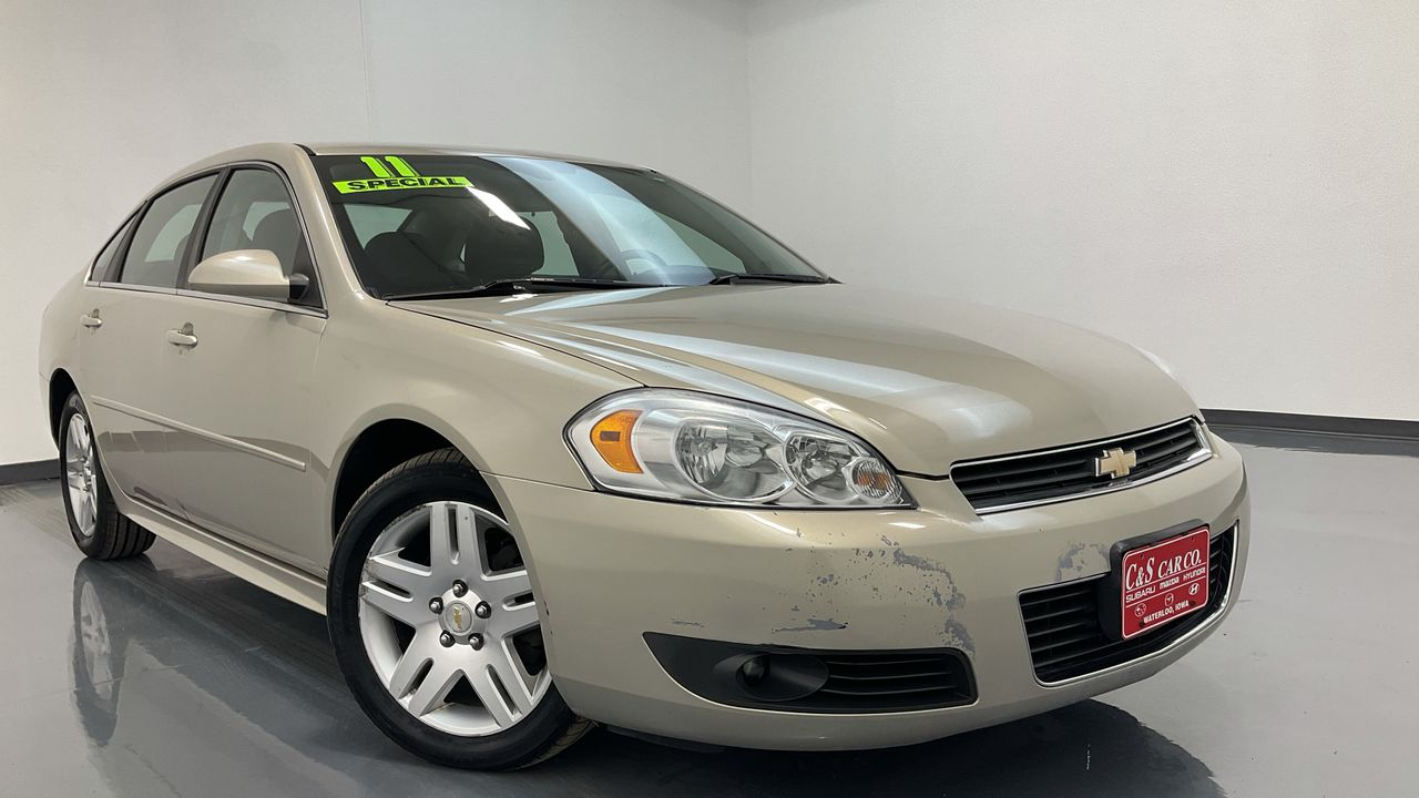 2011 Chevrolet Impala 4D Sedan  - 16575A  - C & S Car Company