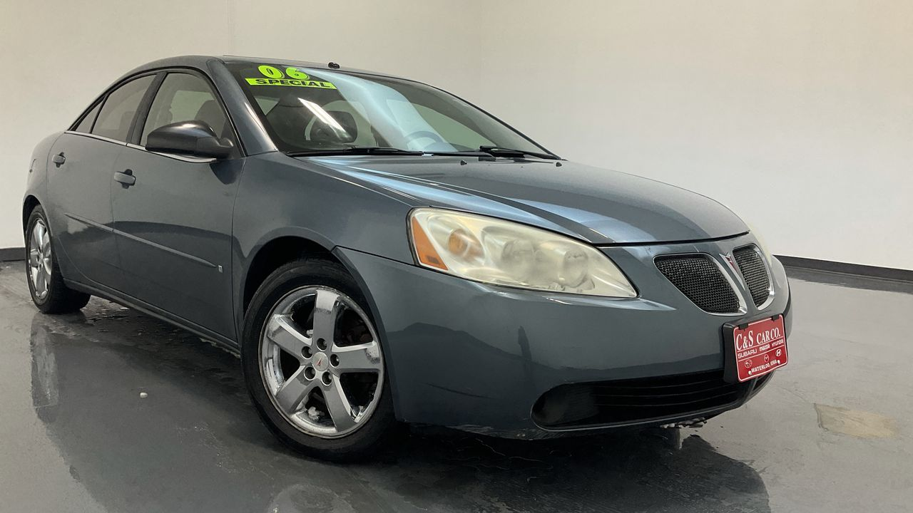 2006 Pontiac G6 4D Sedan  - 16147C  - C & S Car Company