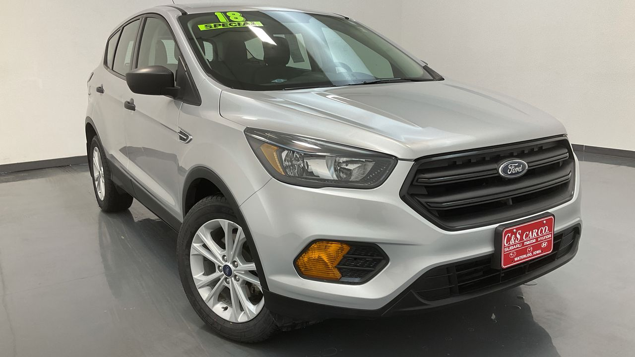 2018 Ford Escape 4D SUV FWD  - SB9341A  - C & S Car Company