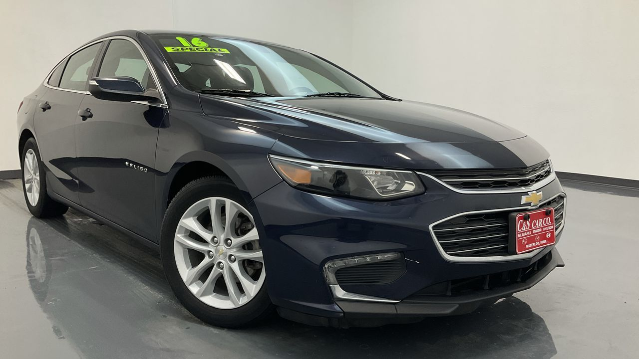 2016 Chevrolet Malibu 4D Sedan  - 16521A  - C & S Car Company