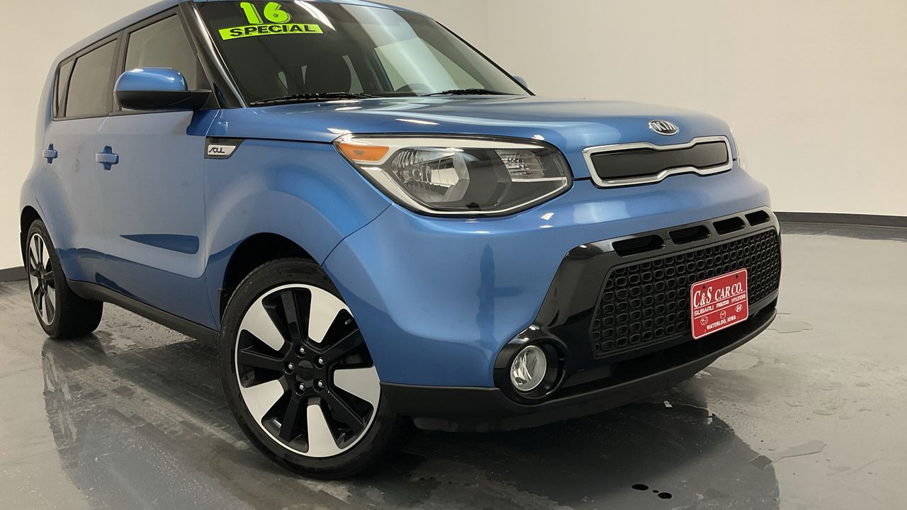 2016 Kia Soul 4D Wagon  - SB9401A  - C & S Car Company