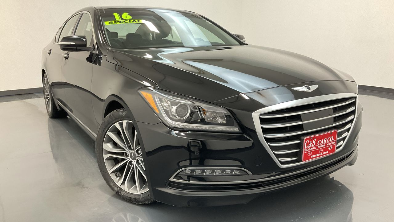 2016 Hyundai GENESIS 4D Sedan AWD  - GS1043A  - C & S Car Company
