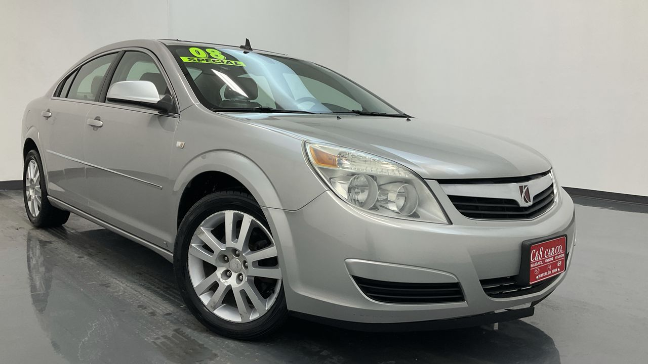 2008 Saturn Aura 4D Sedan  - SB9022C  - C & S Car Company