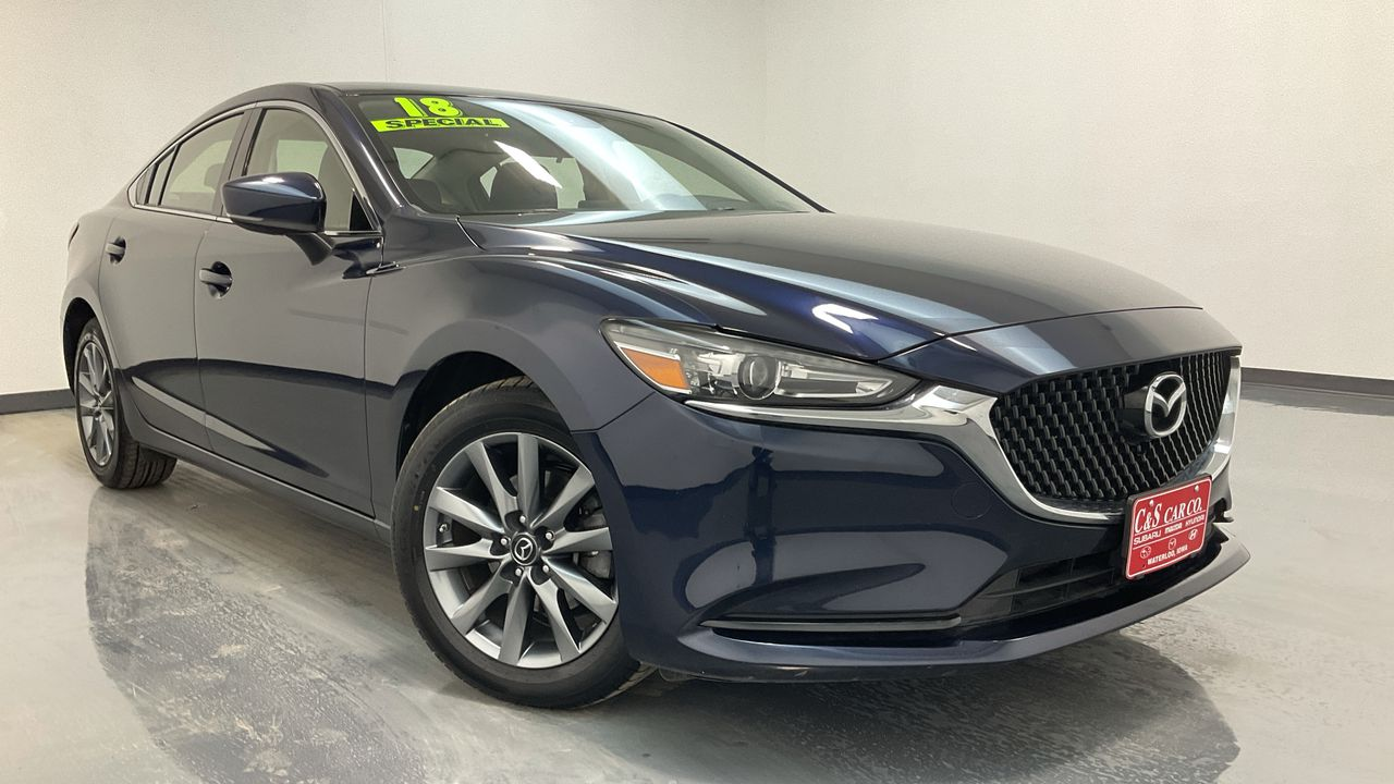 2018 Mazda Mazda6 4D Sedan 6sp  - 16604A  - C & S Car Company