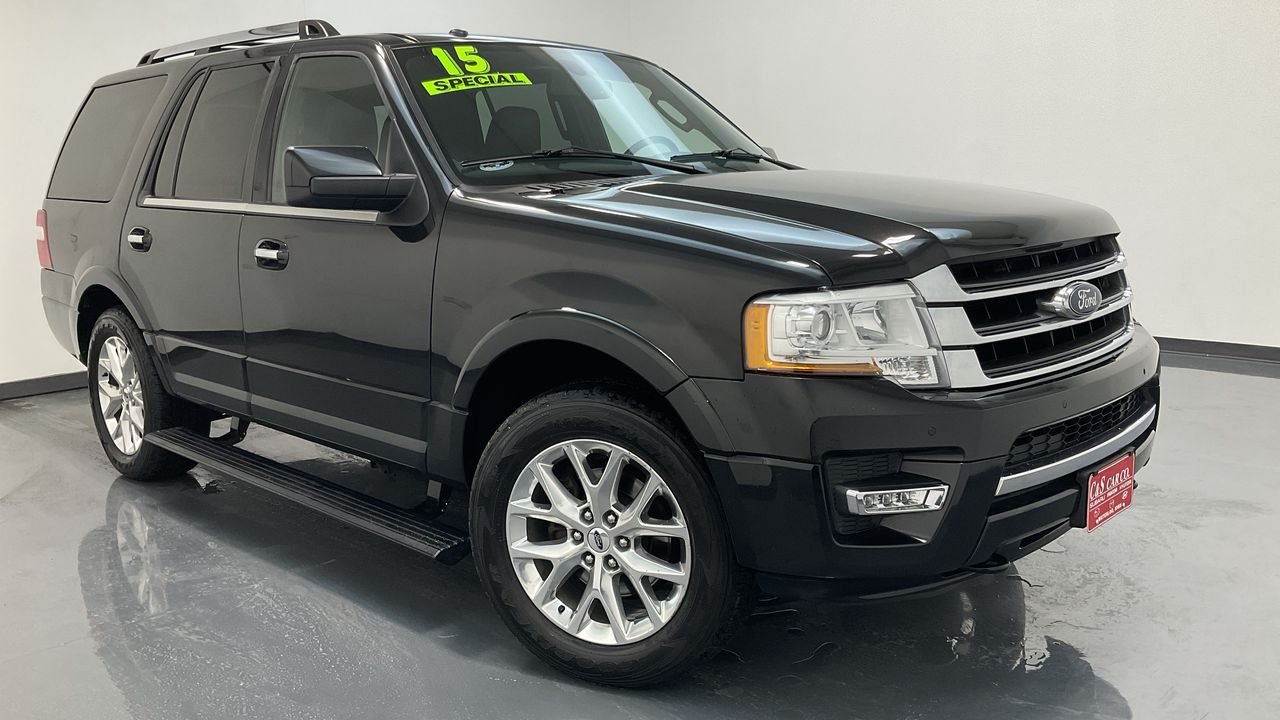 2015 Ford Expedition 4D SUV 4WD  - HY8748A  - C & S Car Company