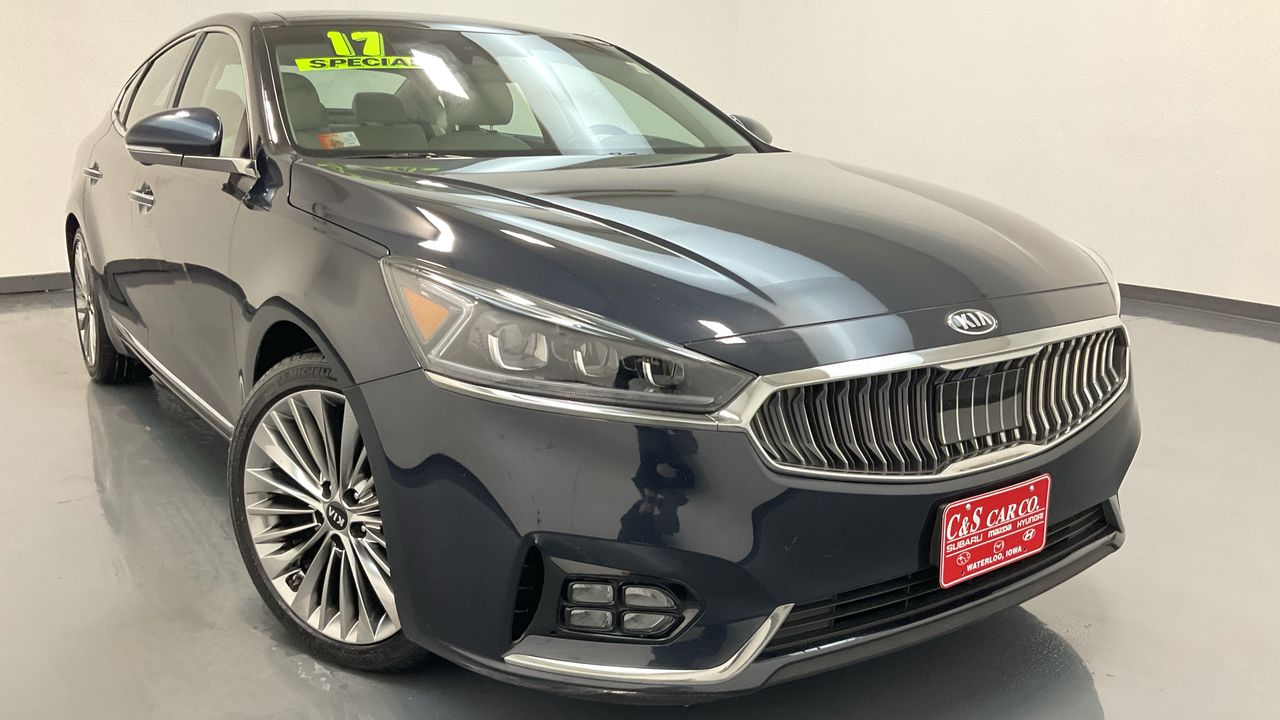 2017 Kia Cadenza 4D Sedan  - GS1012A  - C & S Car Company
