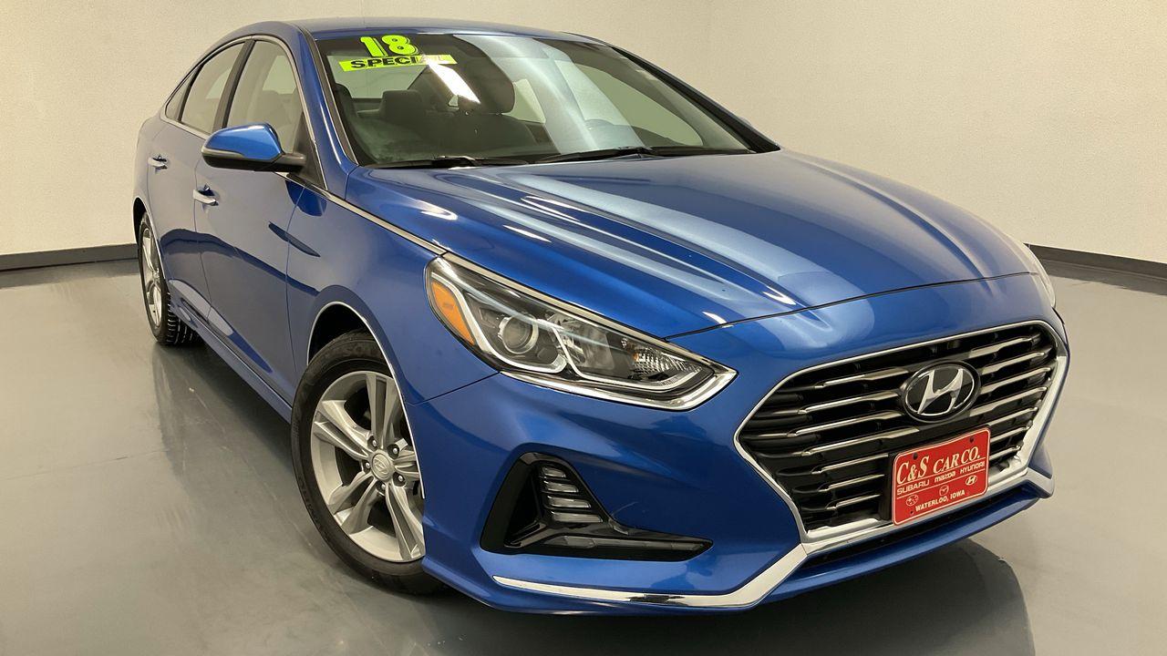 2018 Hyundai Sonata  - HY8484A  - C & S Car Company