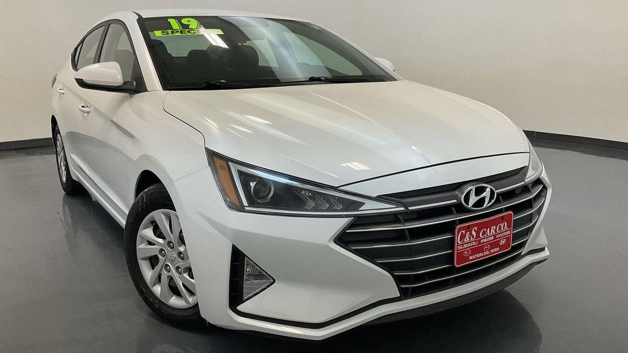 2019 Hyundai Elantra  - HY8528A  - C & S Car Company