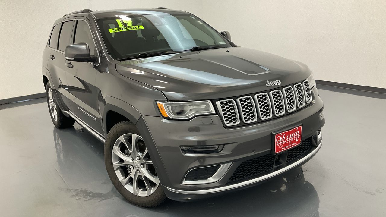 2019 Jeep Grand Cherokee 4D SUV 4WD  - HY8711A  - C & S Car Company