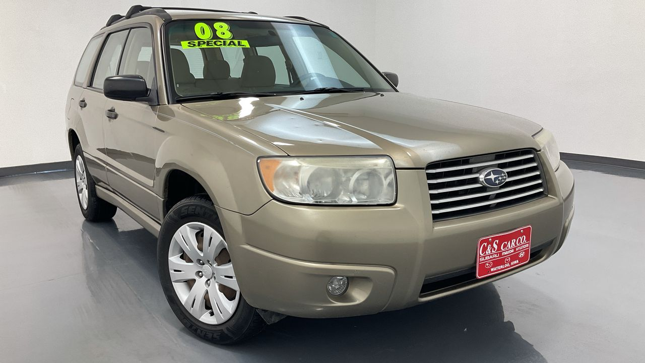 2008 Subaru Forester (Natl)  - C & S Car Company