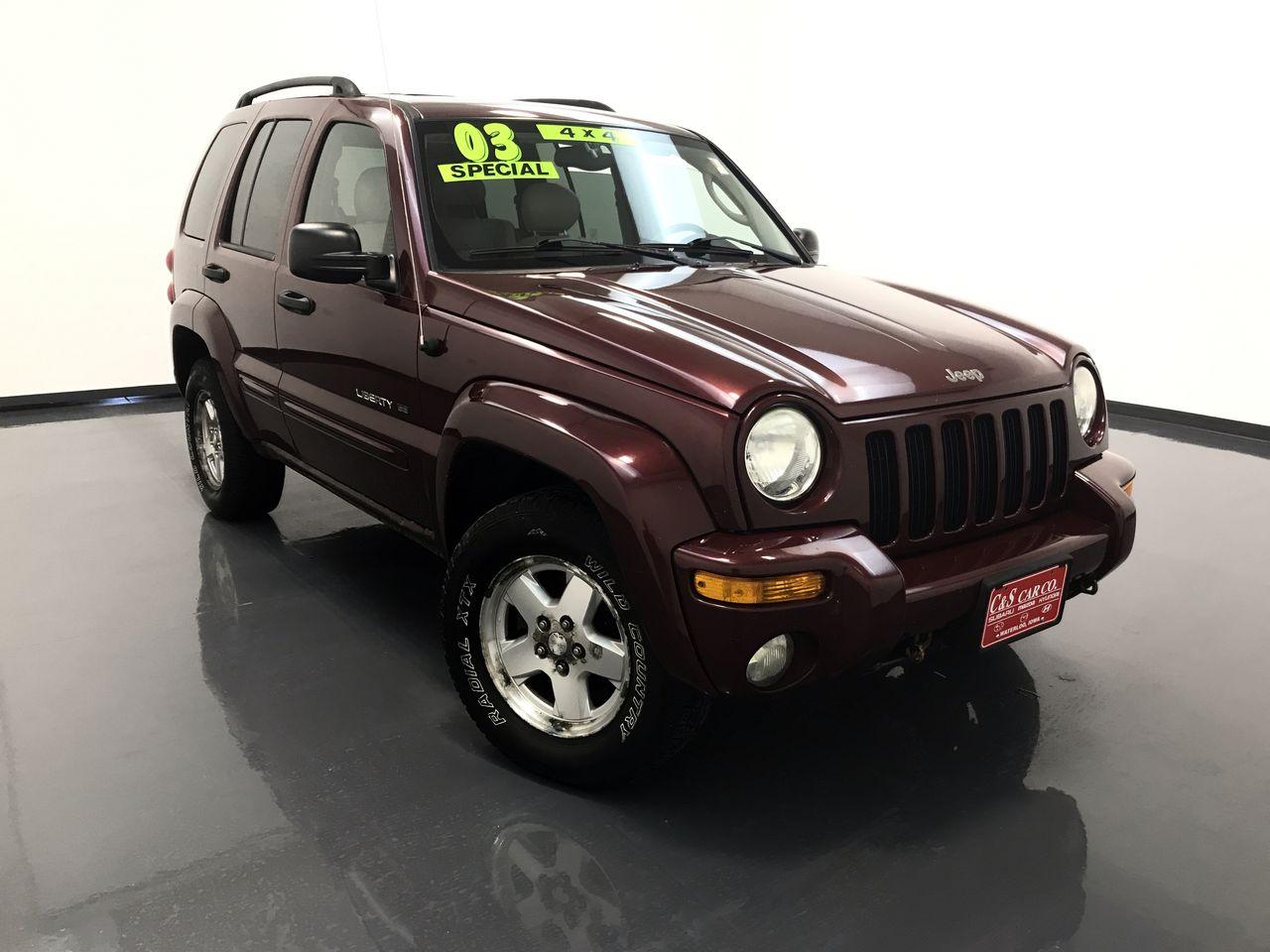 2003 Jeep Liberty  - HY8755B  - C & S Car Company